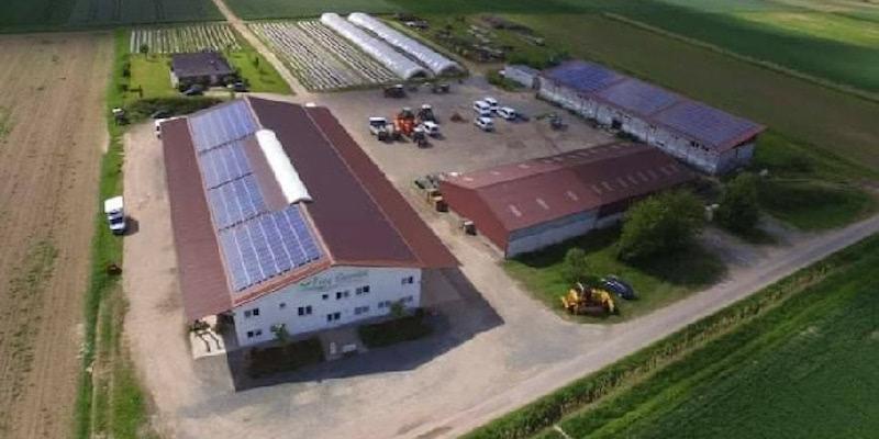 Frey Bauernhof - Luftaufnahme